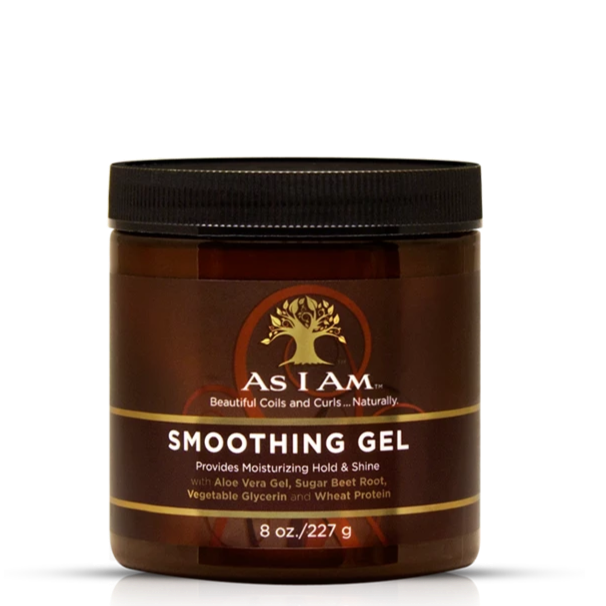 AS I AM SMOOTHING GEL FOR HOLD & SHINE, 227 G