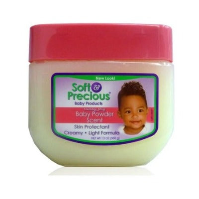 SOFT & PRECIOUS NURSERY JELLY BABY POWDER SCENT, 368 G