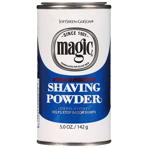 SOFTSHEEN CARSON MAGIC REGULAR STRENGTH SHAVING POWDER, 142 G