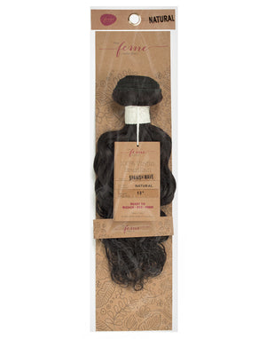 "FEME COLLECTION 100% VIRGIN BRAZILIAN - SPANISH WAVE, 10""-20"""