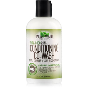 TALIAH WAAJID - SHEA-COCO 2-IN-1 CONDITIONING CO-WASH, 237 ML