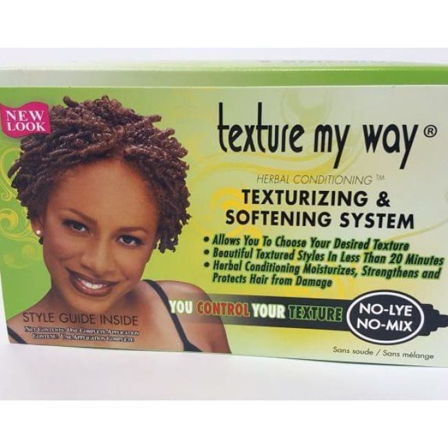 Texture My Way No-Lye Texturizing Kit