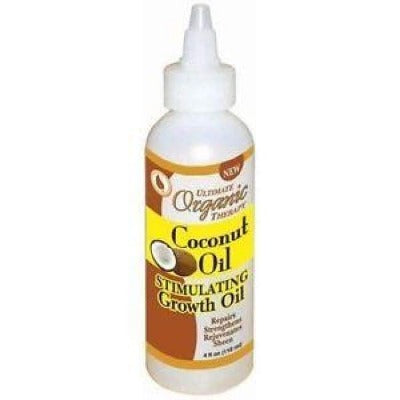 Ultimate Organic Therapy Coconut Oil Stimulating Growth Oil 118 Ml - Hair Care