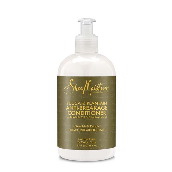 SHEA MOISTURE YUCCA & PLANTAIN ANTI-BREAKAGE STRENGTHENING CONDITIONER, 384 ML