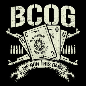 BCOG 'We Run This Game' T-Shirt