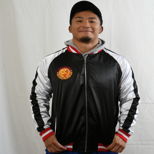 EXCLUSIVE! NJPW Satin Bomber Jacket