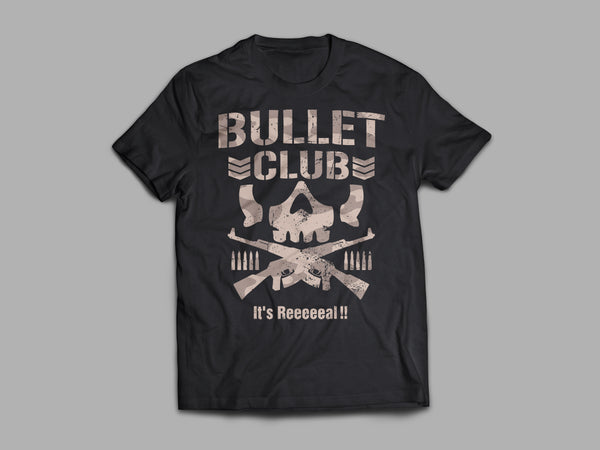 "Bullet Club ""It's Real"" Classic T-Shirt"