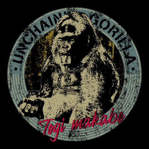 Togi Makabe 'Unchained Gorilla' T-Shirt
