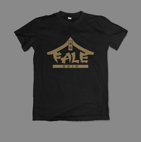 Logo T-Shirt - Gold on Black