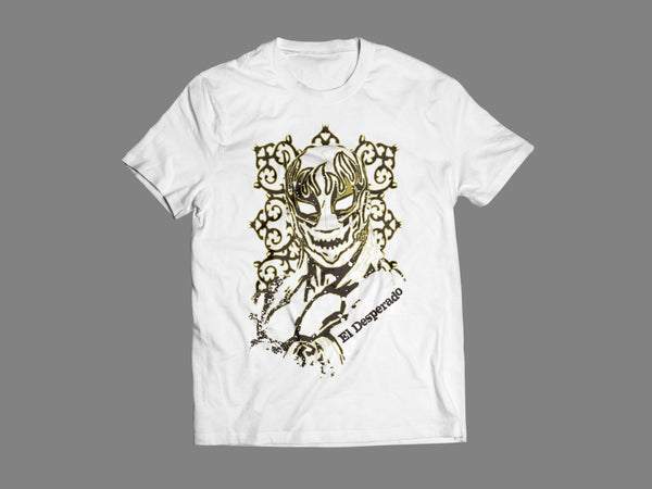 El Desperado 'Guitarra' White T-Shirt