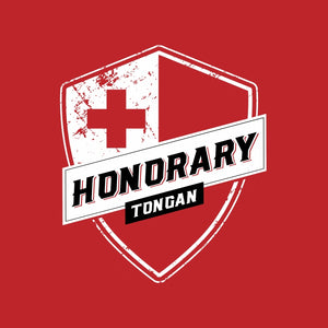 Honorary Tongan T-Shirt - Red