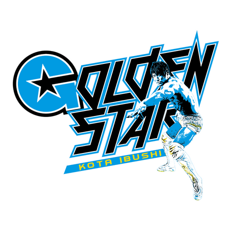 Kota Ibushi 'Golden Star' Picture T-Shirt