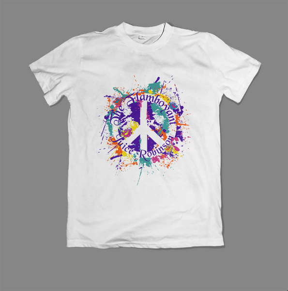 Juice Robinson 'Peace Mark' White T-Shirt