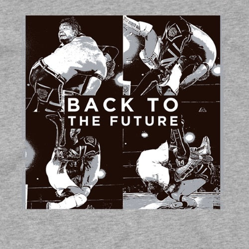 KUSHIDA 'Back To The Future' Long Sleeve T-Shirt