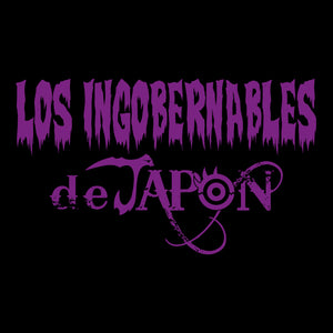Los Ingobernables de Japon - Purple Logo - T-Shirt