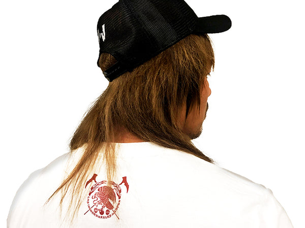 Los Ingobernables de Japon Red On White T-Shirt