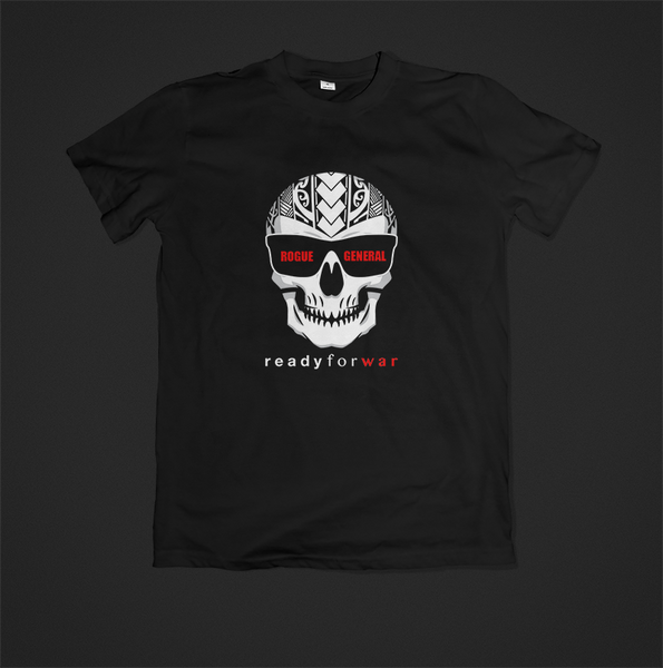 Rogue General - Toks Fale 'Ready For War - Skull' Shirt