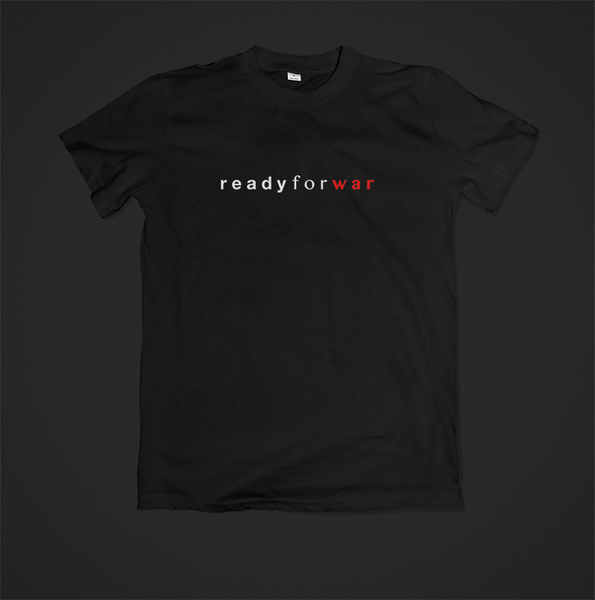 Rogue General - Toks Fale 'Ready For War - Text' Shirt