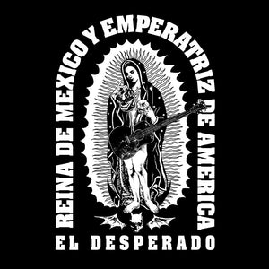 El Desperado 'Reina De Mexico' Black T-Shirt