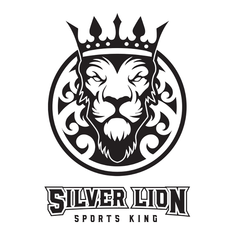Silver Lion Updated Logo - White T-Shirt