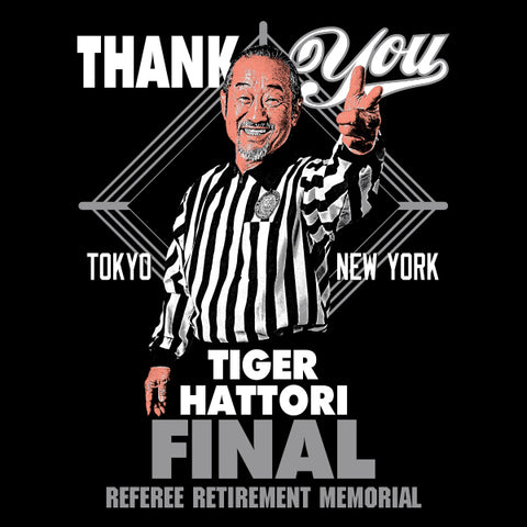 "Tiger Hattori ""Thank You"" T-shirt"