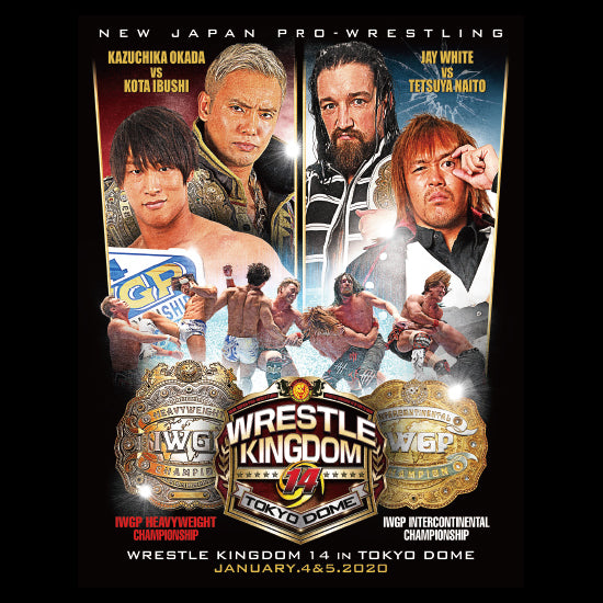 Wrestle Kingdom 14 - IWGP MAIN EVENTS - T-Shirt