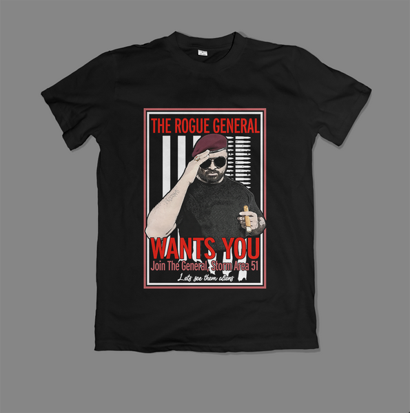 Rogue General - Toks Fale 'Recruitment Poster' Shirt