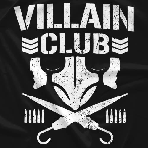 Marty Scurll 'Villain Club' T-Shirt