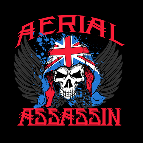 Will Ospreay 'Aerial Assassin' T-Shirt