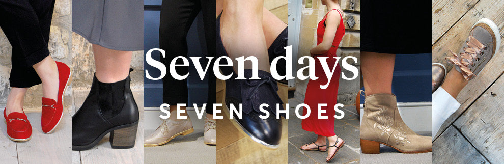 Week of shoes header