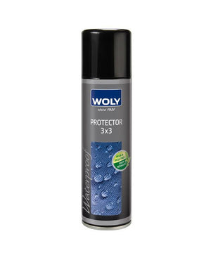 WOLY 3X3 Protector 300 - Repels snow, mud and dirt and water stains.