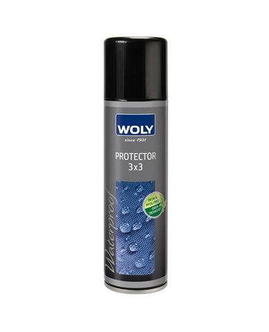 WOLY 3X3 PROTECTOR 300ML  - Protect your leather and suede from the elements.