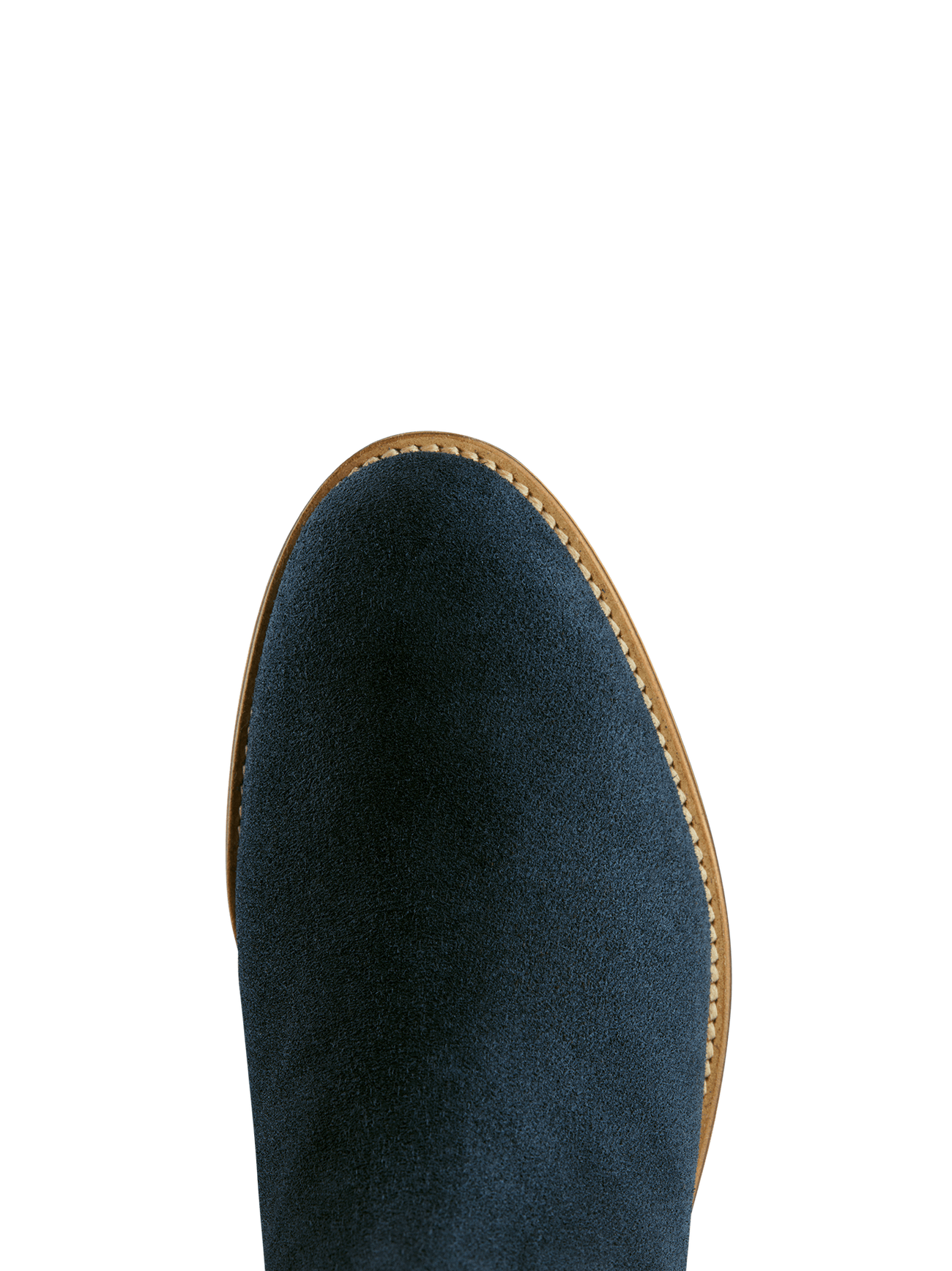 Berkley has a comfortable round toe, in soft statement petrol blue suede.