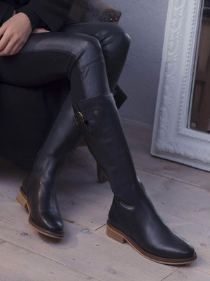 Joiners Black Leather - Past season - Now under £100.