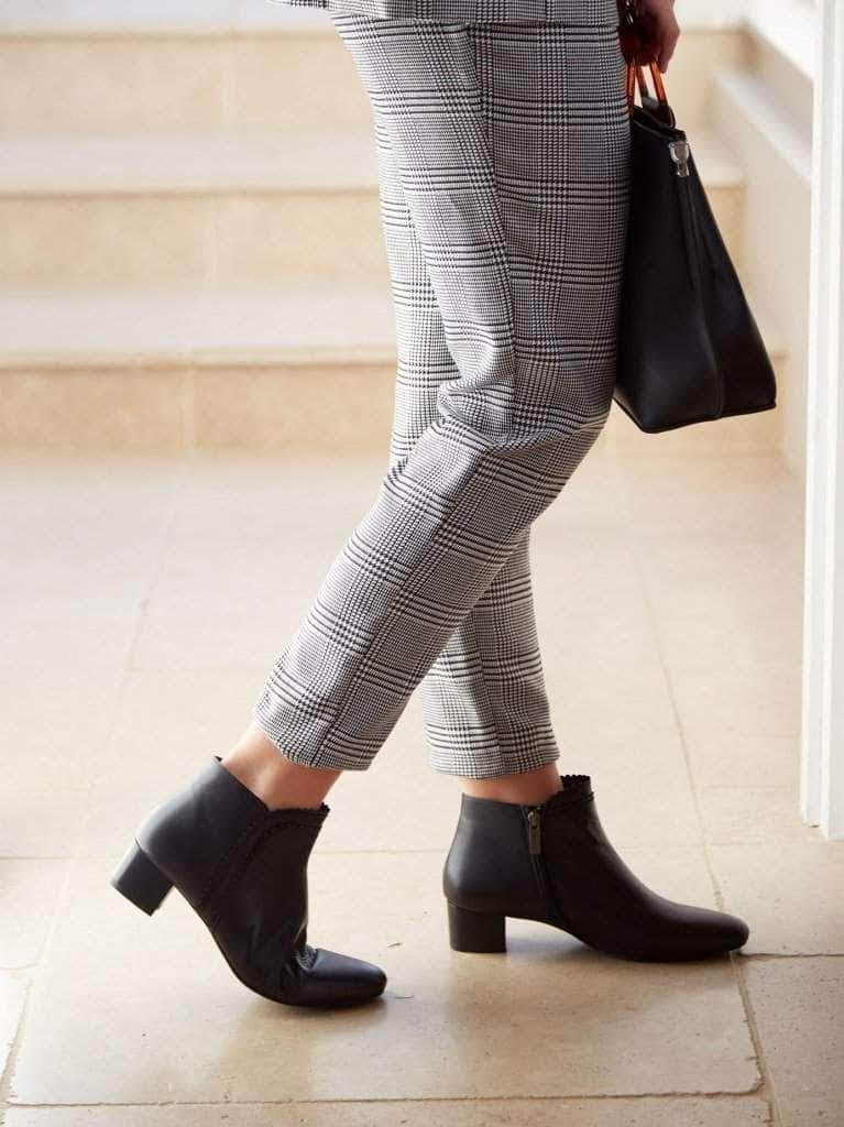 This go-to black ankle boot is perfect for any occasion, from work to weekend.