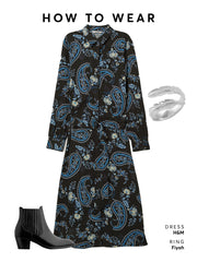 Wear with a long floral maxi dress to pull off a chic western style.