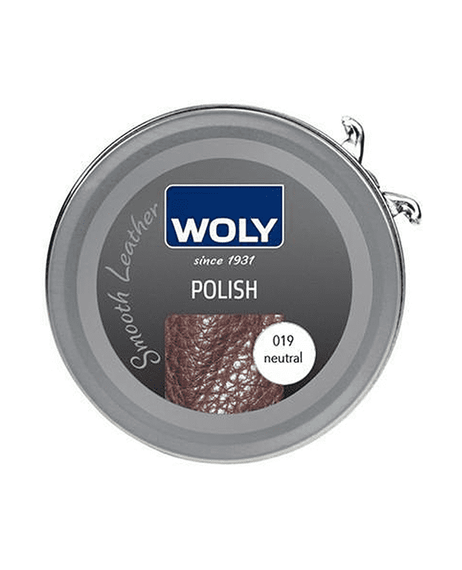 WOLY Leather Polish 50ml - Clear