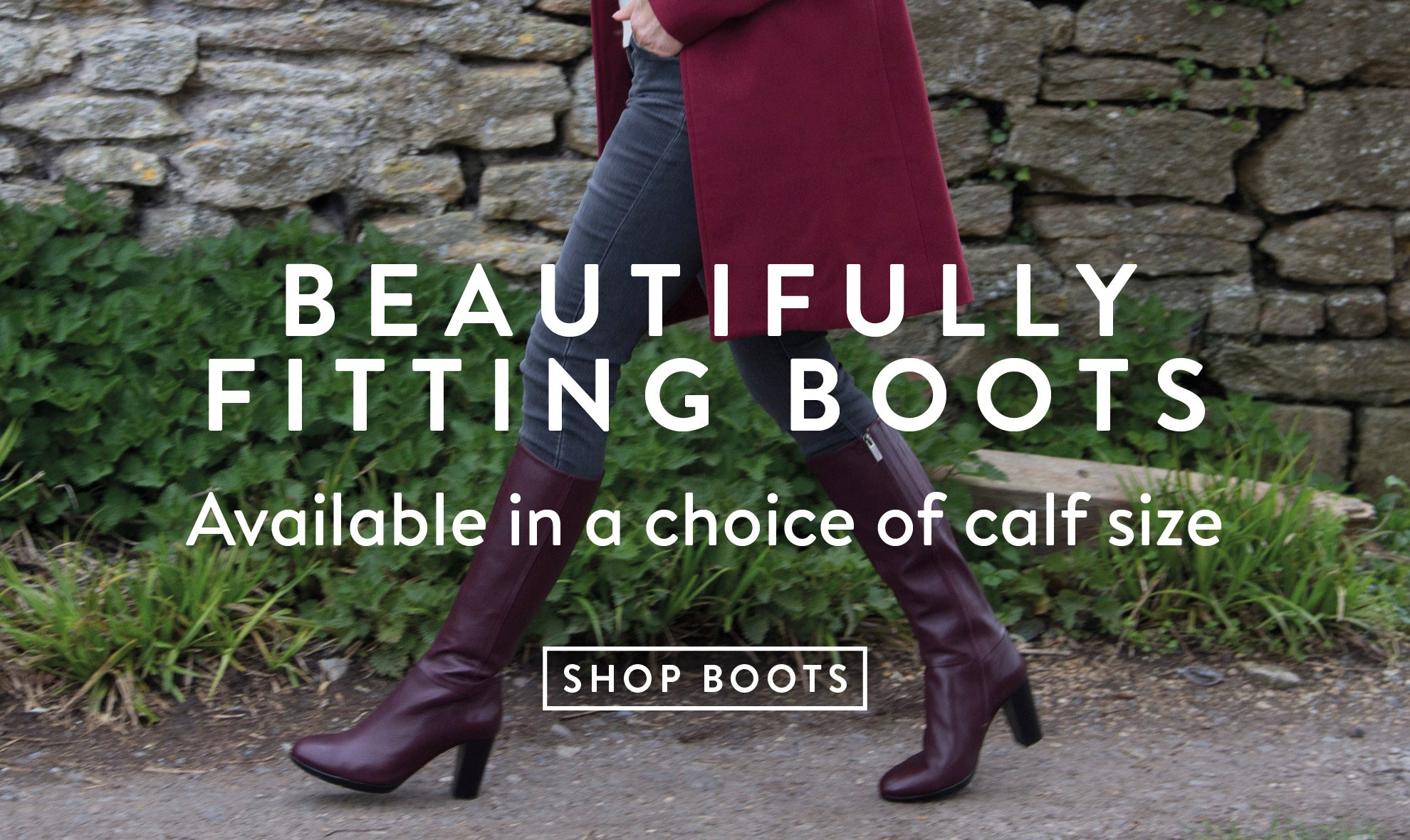 Beautifully Fitting Boots