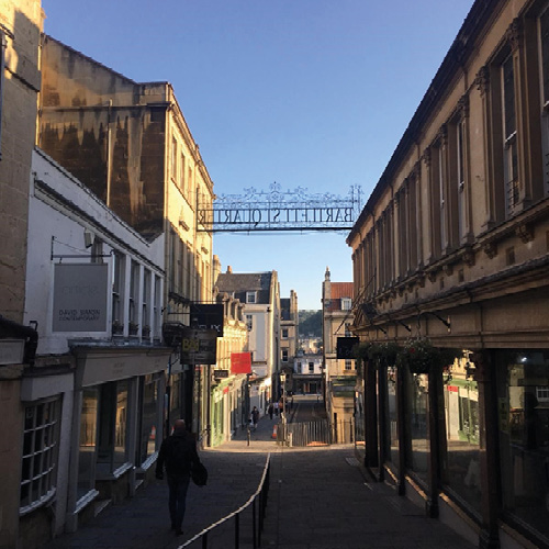 On (and off) the tourist trail in Bath