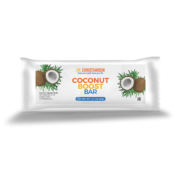 Coconut Boost Bars (Box of 18 Bars)
