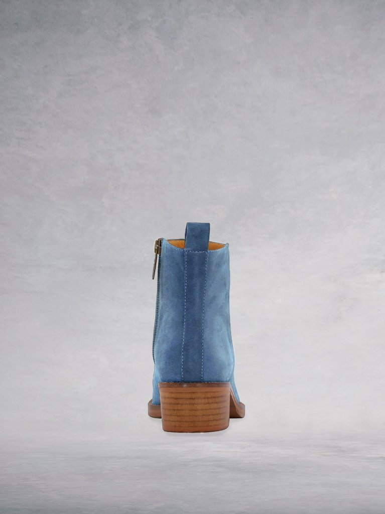 Arietty - Jeans Blue Suede