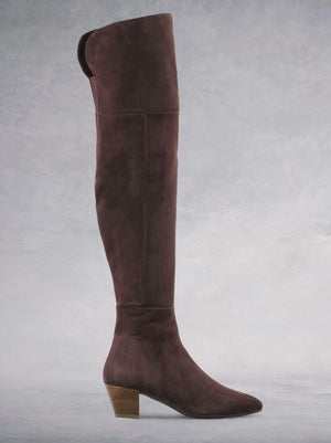 Curve - Fig Brown Suede