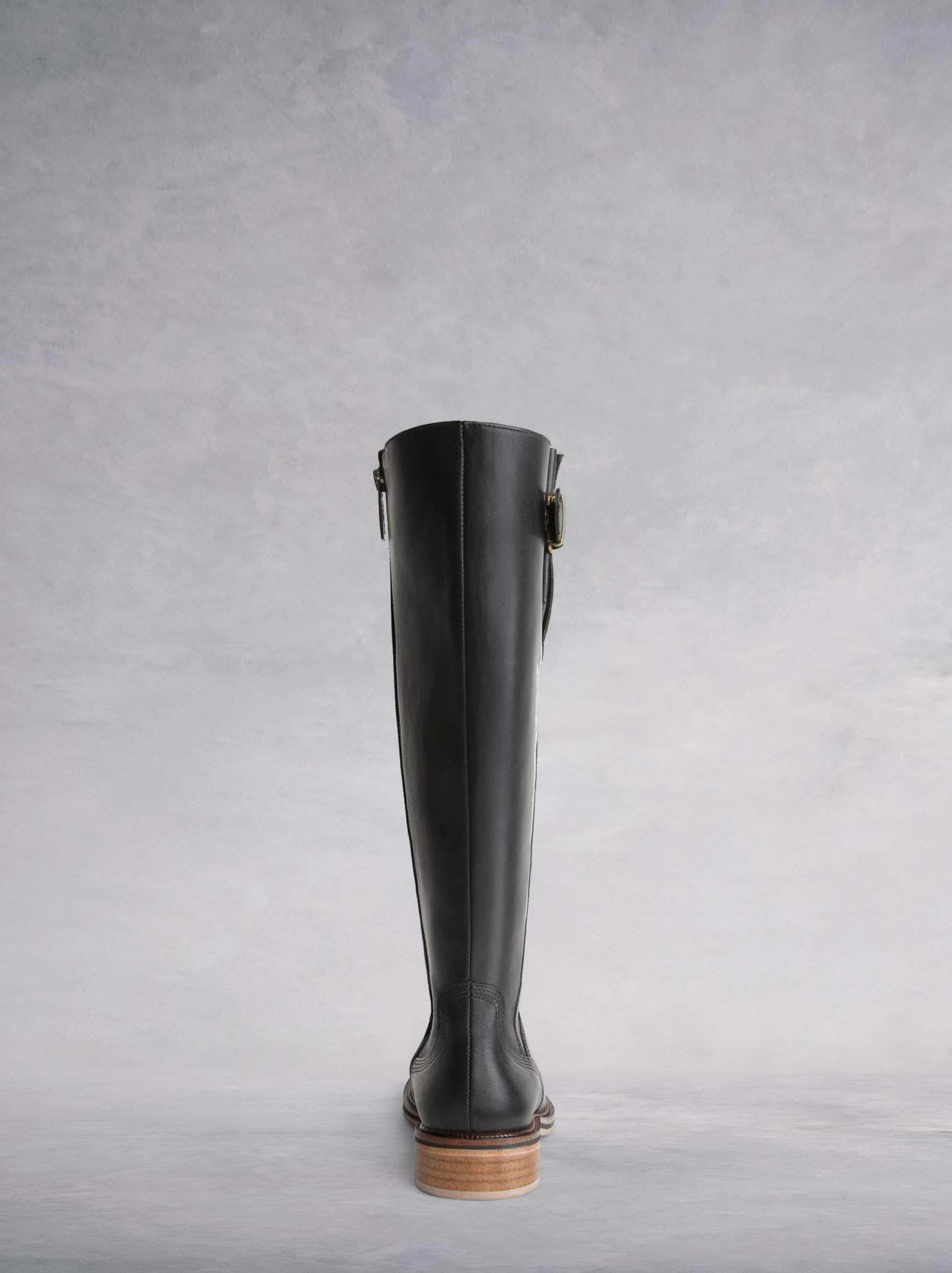 Joiners Black Leather - Everyday classic leather boot.