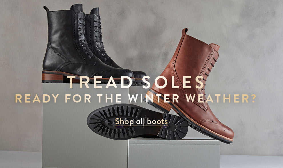 Tread sole boots
