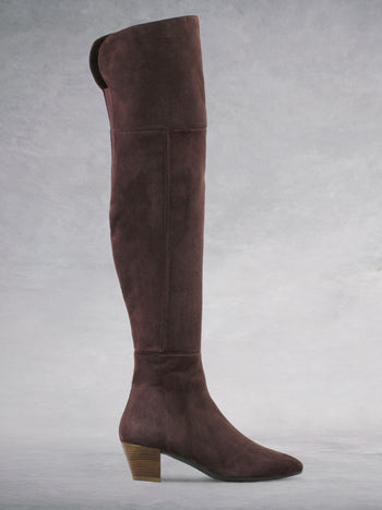 Curve Fig Brown Suede - Past season - Now under $150.