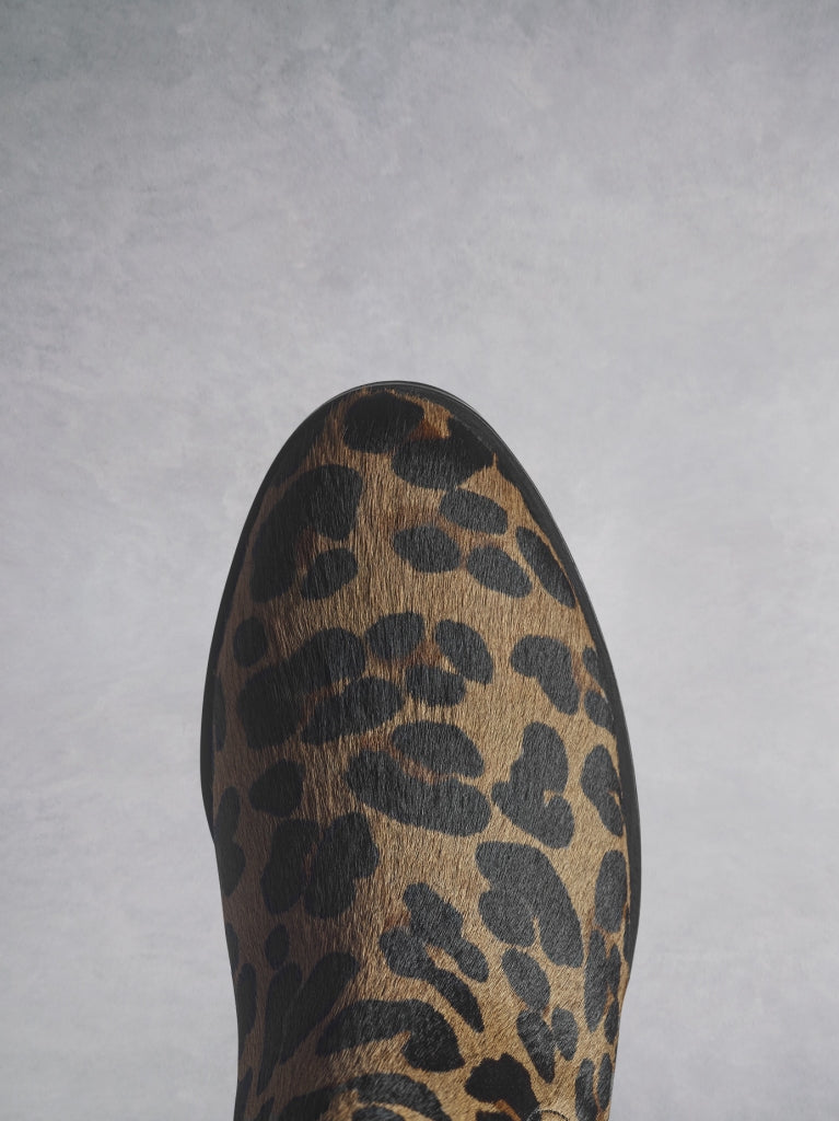 Darwin - Leopard Hair Leather