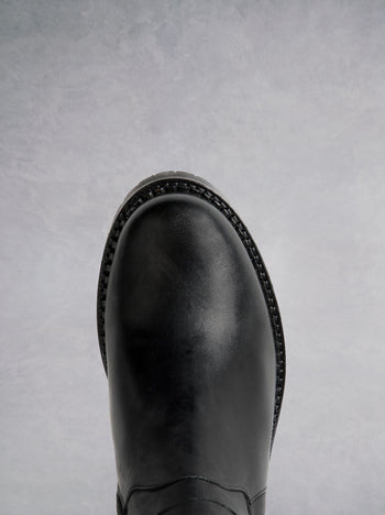 Finch Black Leather - Past season - Now under $150.