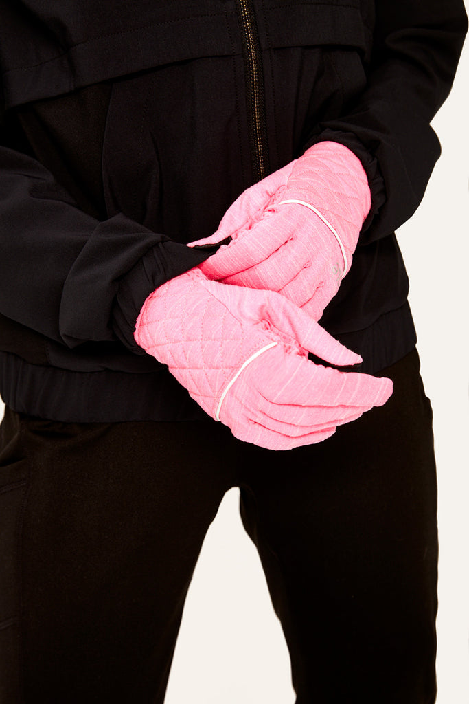 POLISHED FLEECE GLOVES