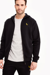 ELLIOT FULL ZIP STRUCTURED TERRY