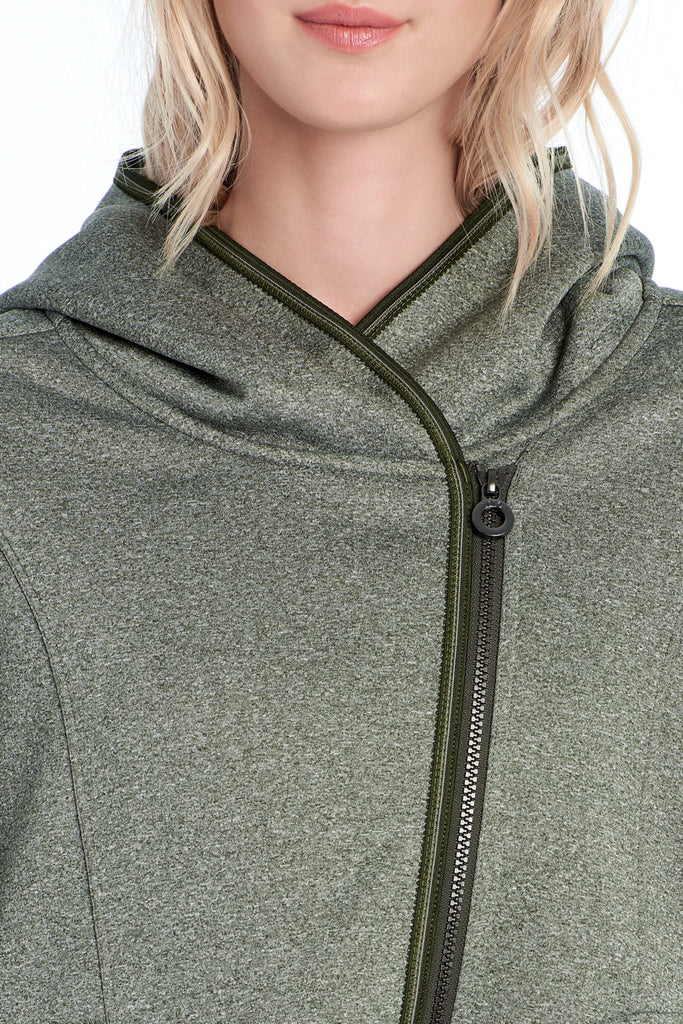 ARDEEN HOODED CARDIGAN